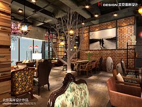 现代酒吧吧台