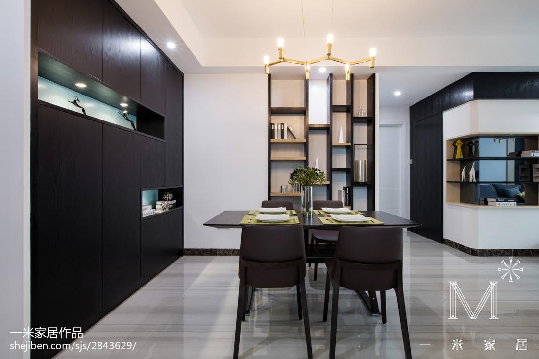 热门面积89平现代二居餐厅装修设计效果图片欣赏厨房现代简约餐厅设计图片赏析
