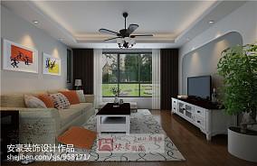 现代化客厅装修效果图
