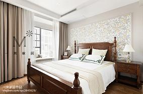 精美二居卧室美式装饰图片欣赏二居美式经典家装装修案例效果图