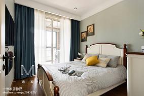 温馨62平美式二居装修案例二居美式经典家装装修案例效果图