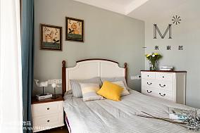 精美84平美式二居装饰图片二居美式经典家装装修案例效果图