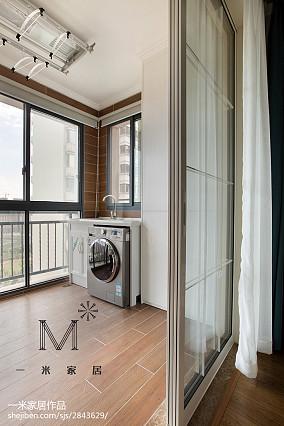 简洁66平美式二居装修效果图二居美式经典家装装修案例效果图