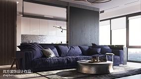 优美20平LOFT小户型客厅装修效果图