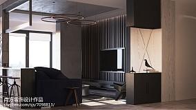优雅34平LOFT小户型设计图客厅2图潮流混搭客厅设计图片赏析