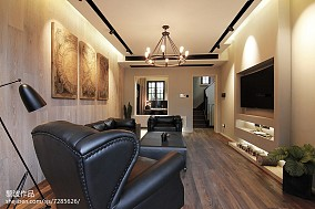 热门138平米混搭别墅客厅效果图片