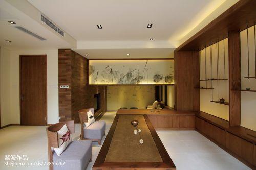 精美东南亚别墅休闲区设计效果图餐厅201-500m²潮流混搭家装装修案例效果图