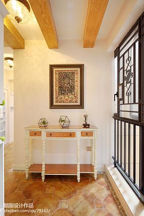 平美式三居玄关装修案例玄关2图美式经典设计图片赏析