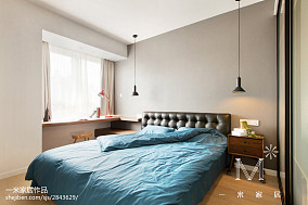 精选89平米北欧小户型卧室装修效果图片一居北欧极简家装装修案例效果图