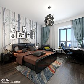 热门现代小户型卧室效果图片