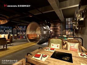 现代酒吧效果图