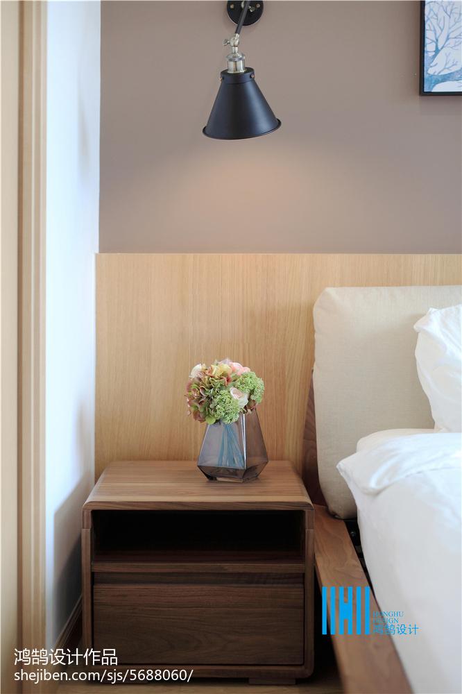 面积126平复式卧室北欧装修设计效果图片欣赏客厅床头柜北欧极简客厅设计图片赏析