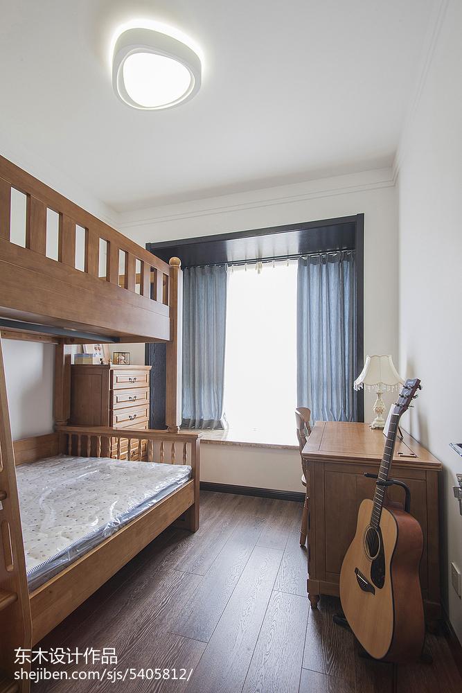 简雅现代风格儿童房设计现代简约设计图片赏析