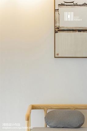 精致95平简欧三居客厅装饰图片三居北欧极简家装装修案例效果图