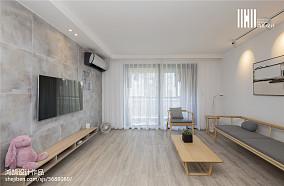 2018三居客厅简欧装修设计效果图片