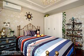 热门新古典四居儿童房装修欣赏图片大全