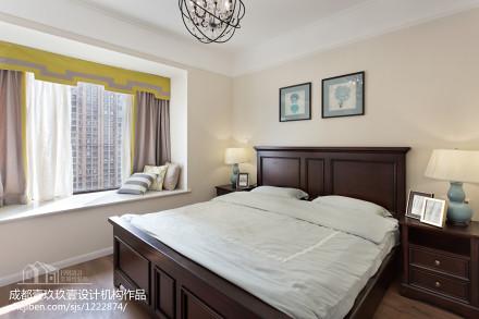 浪漫78平混搭三居卧室美图卧室