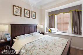 典雅120平混搭三居卧室效果图欣赏卧室1图潮流混搭设计图片赏析