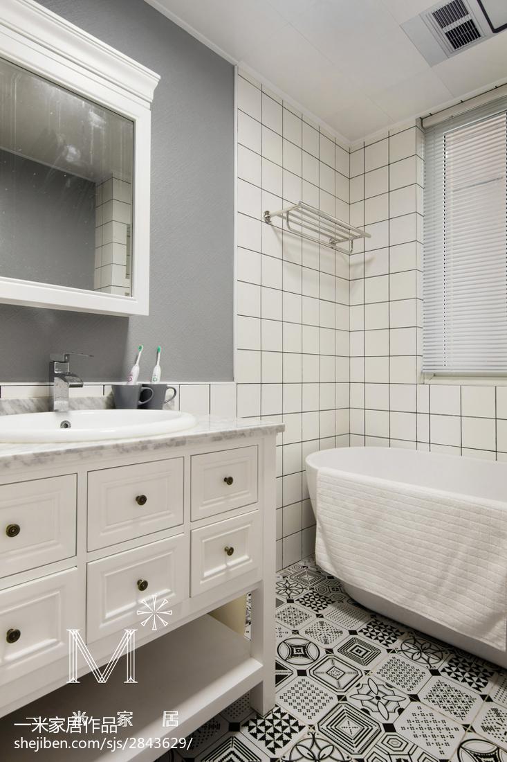 时尚现代风格家居卫浴装饰图功能区现代简约功能区设计图片赏析