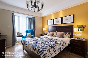 时尚美式风格家居卧室装修卧室美式经典设计图片赏析