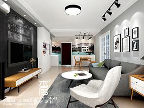 长方形的小户型客厅简约图片