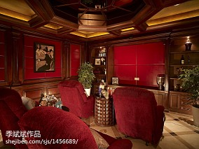中式双拼别墅和联排别墅图片