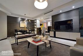 明亮82平简约三居布置图121-150m²三居现代简约家装装修案例效果图