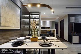 精选108平方三居餐厅简约装饰图片欣赏