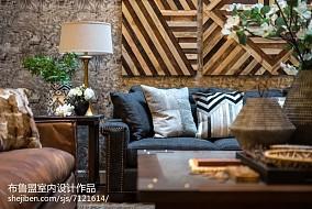 精选别墅客厅混搭装修效果图别墅豪宅潮流混搭家装装修案例效果图