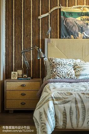 精选大小119平别墅卧室混搭效果图片别墅豪宅潮流混搭家装装修案例效果图