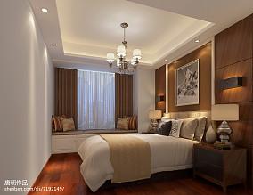 热门面积102平美式三居装饰图片大全