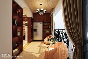 精选面积70平公寓北欧装修效果图片