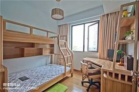 热门面积101平北欧三居卧室装修欣赏图