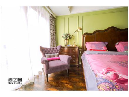 精选141平米四居卧室美式实景图片卧室
