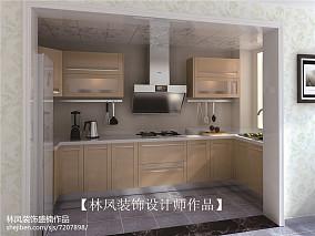 2018精选74平米欧式小户型厨房装修欣赏图