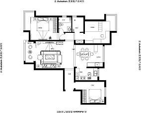 北欧设计三居装修效果图欣赏大全