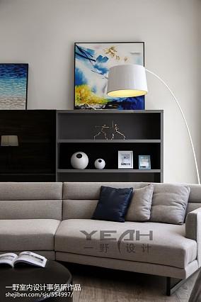 热门124平米简约别墅客厅装修效果图片欣赏
