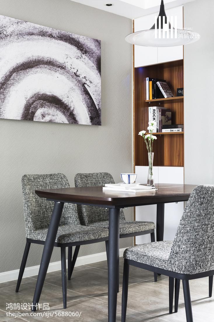 2018精选三居餐厅简约效果图片功能区现代简约功能区设计图片赏析