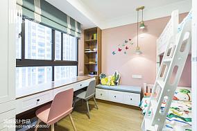 梦幻简约风格儿童房装修三居现代简约家装装修案例效果图