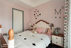 精选118平米四居儿童房美式装修设计效果图片四居及以上美式经典家装装修案例效果图