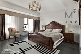 浪漫151平美式四居卧室装饰美图四居及以上美式经典家装装修案例效果图