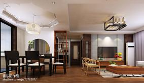热门95平米三居客厅中式效果图片欣赏