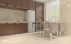 2018面积88平小户型厨房现代装修欣赏图片大全一居现代简约家装装修案例效果图