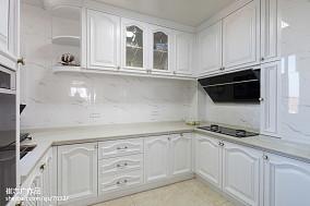 128平米欧式别墅厨房装修欣赏图