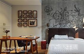 2018144平米美式别墅卧室实景图片