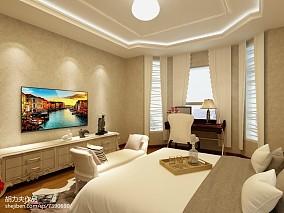 热门77平米二居卧室简欧装修图片