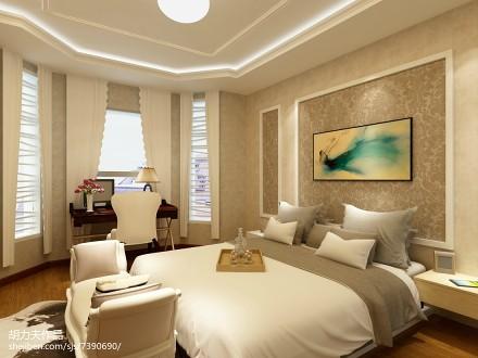 76平米二居卧室简欧装修图片