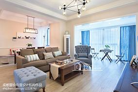 大气混搭风格客厅设计客厅潮流混搭设计图片赏析