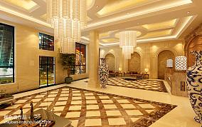 欧式花纹客厅电视墙图片