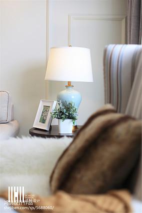 精美面积92平美式三居客厅装修设计效果图片欣赏